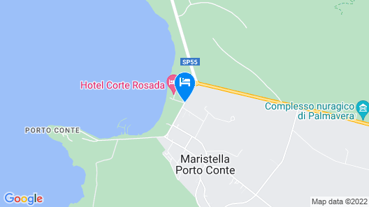Hotel Corte Rosada Resort&Spa - Adults Only Map
