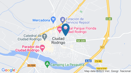 Apartment With 2 Bedrooms in Cdad. Rodrigo Map