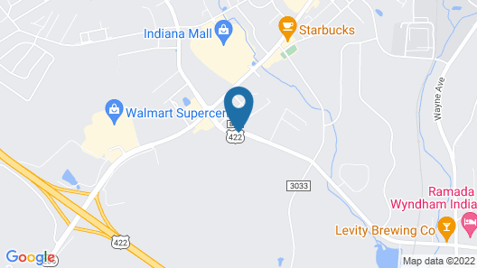 Hampton Inn Indiana Map
