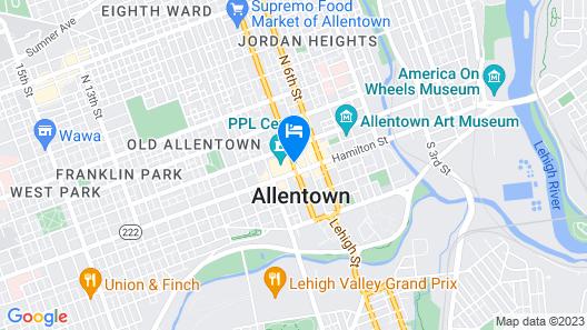 Renaissance Allentown Hotel Map