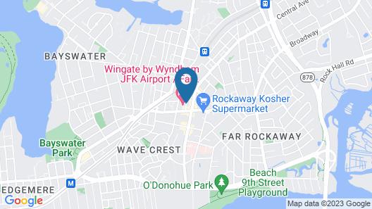 Best Western Far Rockaway/JFK Airport Area Hotel Map