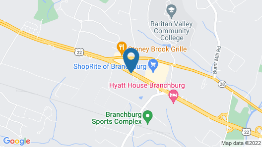 Residence Inn Bridgewater Branchburg Map