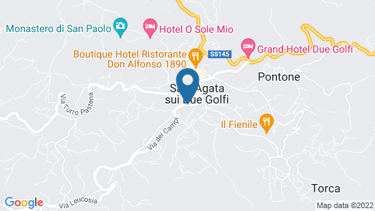 Hotel Sant'Agata Map