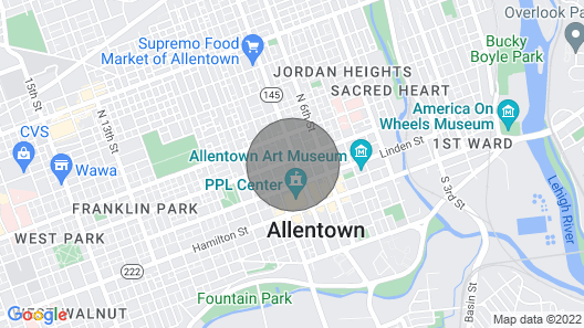 Photographic Downtown Apartment Map