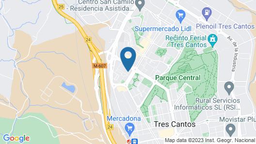 UrbanA +++ Tres Cantos Map