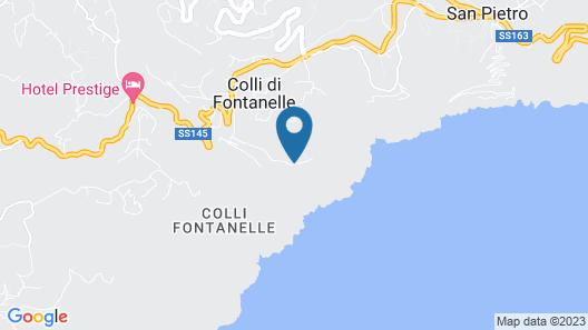 Villa La Pietra Verde - Sorrento Map