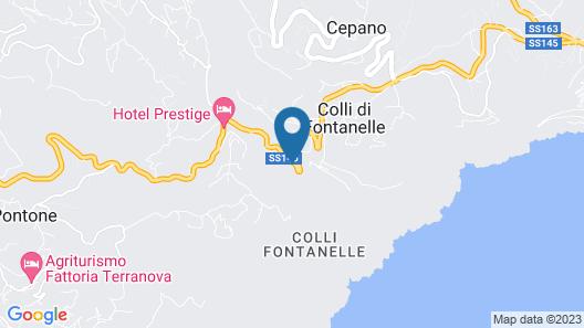 Villa La Ventana Map