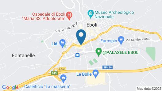 Hotel Grazia Eboli Map