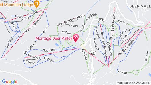 Montage Deer Valley Map