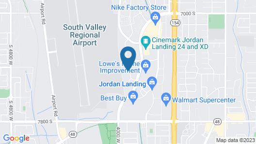 My Place Hotel-West Jordan, UT Map