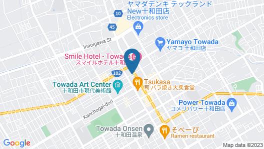 Hotel Route-Inn Towada Map