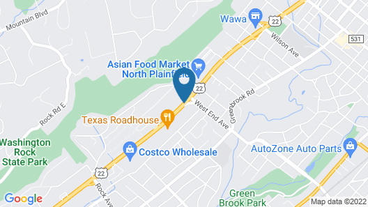 Howard Johnson by Wyndham North Plainfield Map