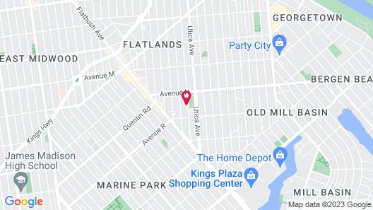 Days Inn by Wyndham Brooklyn Marine Park Map