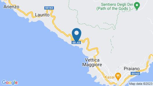 Grand Hotel Tritone Map