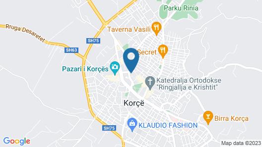 Grand Hotel Palace Korce Map