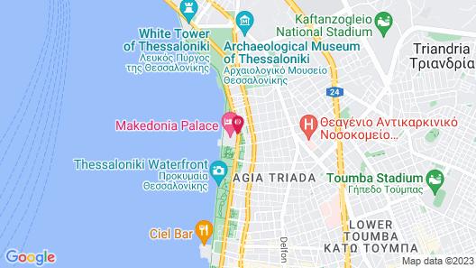 Makedonia Palace Map