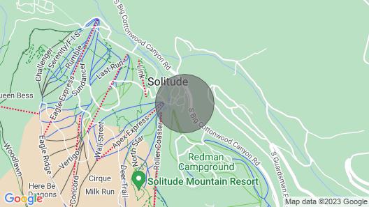 Solitude Mountain Resort Condo at Lift Base! Map