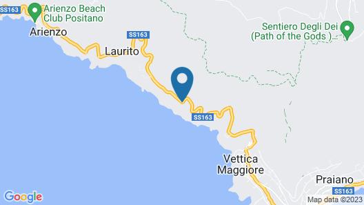 Hotel Piccolo Sant'Andrea Map