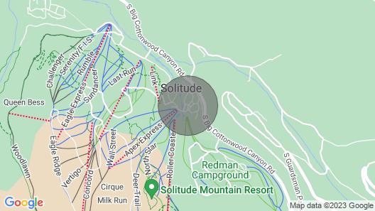 Honeycomb Condo, Solitude, Ski-In Ski-Out, sleeps 6 Map