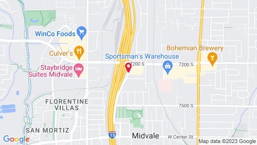 La Quinta Inn by Wyndham Salt Lake City Midvale Map