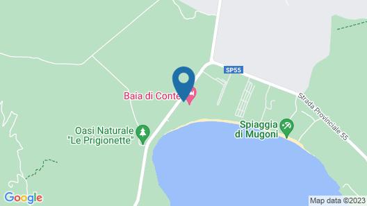 Hotel Baia Di Conte Map