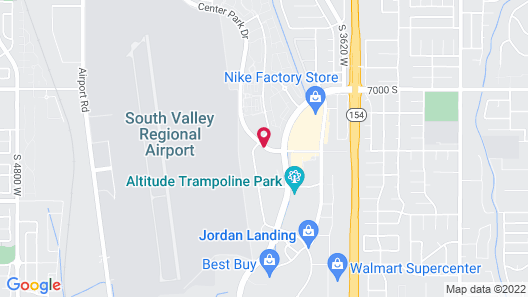 Hampton Inn & Suites Salt Lake City-West Jordan Map