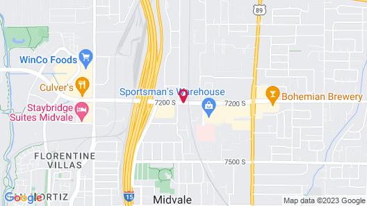 Park Inn by Radisson Salt Lake City Midvale Map