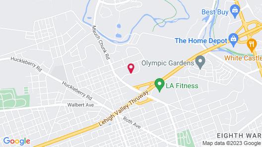 Holiday Inn Express Allentown North, an IHG Hotel Map