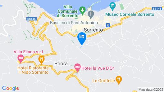 Hilton Sorrento Palace Map