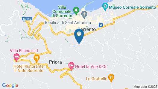 B&B Sorrento Central Map