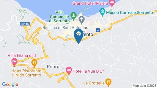 Residence Sorrento Map