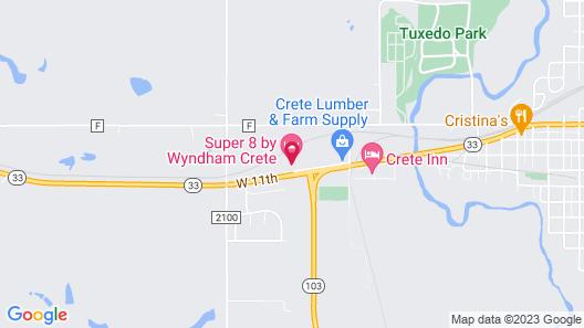 Super 8 by Wyndham Crete Map