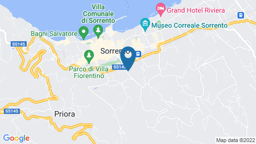 Hotel Savoia Map