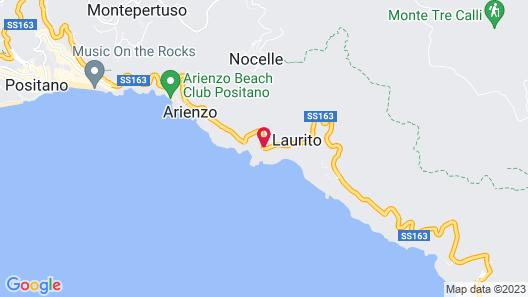 Il San Pietro di Positano Map
