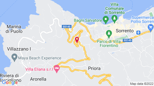 Grand Hotel Aminta Map