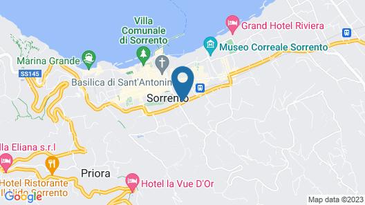 Grand Hotel Cesare Augusto Map