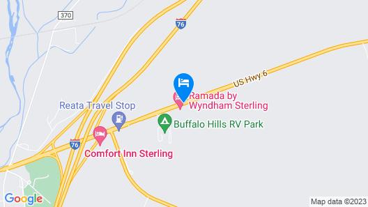 Ramada by Wyndham Sterling Map