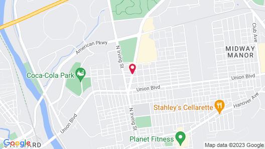 Super 8 by Wyndham Allentown Map