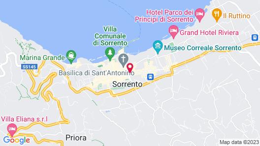 Grand Hotel Excelsior Vittoria Map