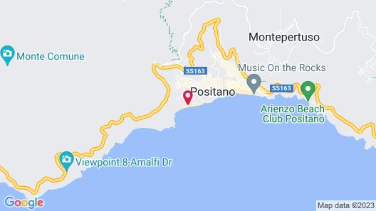 Hotel Pupetto Map
