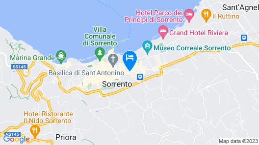 Hotel Sorrento City Map