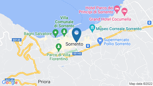 Agora Apartments Map