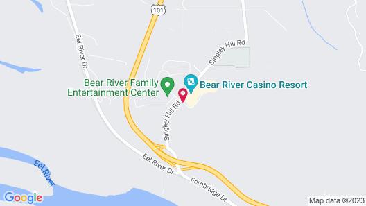 Bear River Casino Resort Map