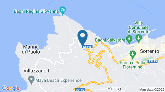 Villaggio Campeggio Santa Fortunata Campogaio Map