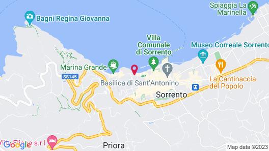 Hotel Regina Sorrento Map