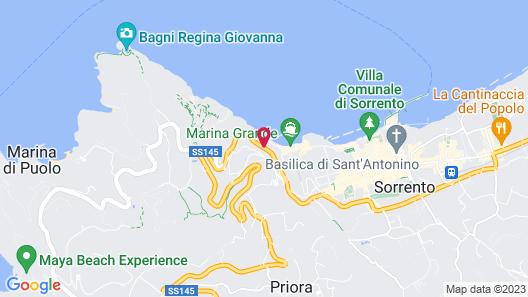 Maison La Minervetta Map