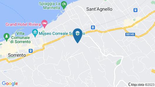 Art Hotel Gran Paradiso Map