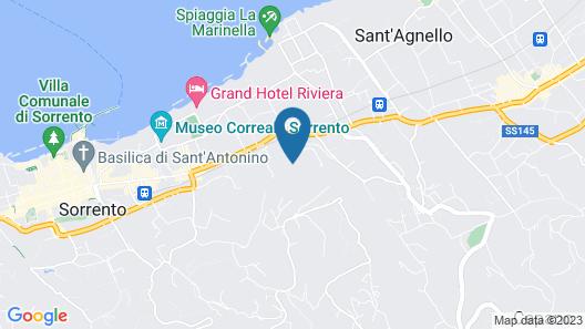 Villa Oriana Relais Map