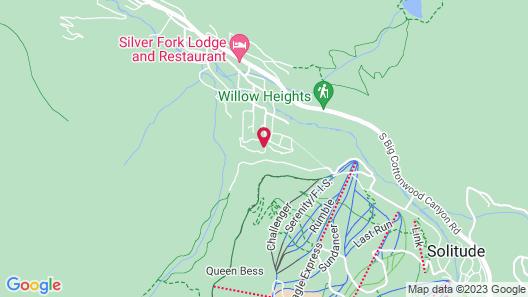 11373 Church - 1 Br Cabin Map