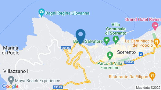 Hotel Belair Map